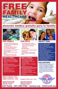 Remote Area Medical Promotional Poster - SRQ Designs