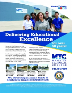Manatee County Chamber of Commerce Advertisement - SRQ Designs